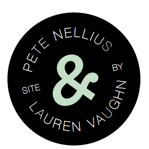 Site Design by Pete Nellius and Lauren Vaughn
